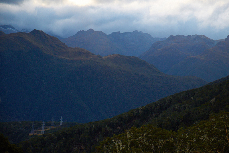 evoke studio auckland: all seans images &emdash; View from Borland Rd Saddle